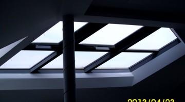Okna dachowe zdalnie otwierane na pilota